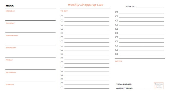 TJJ Blank Weekl Menu_Shopping List